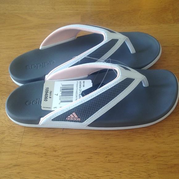 3c9f96755be6 Adidas Adilette CF Summer Flip Flop Slides 7